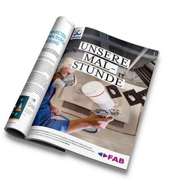 FAB Magazin Anzeige