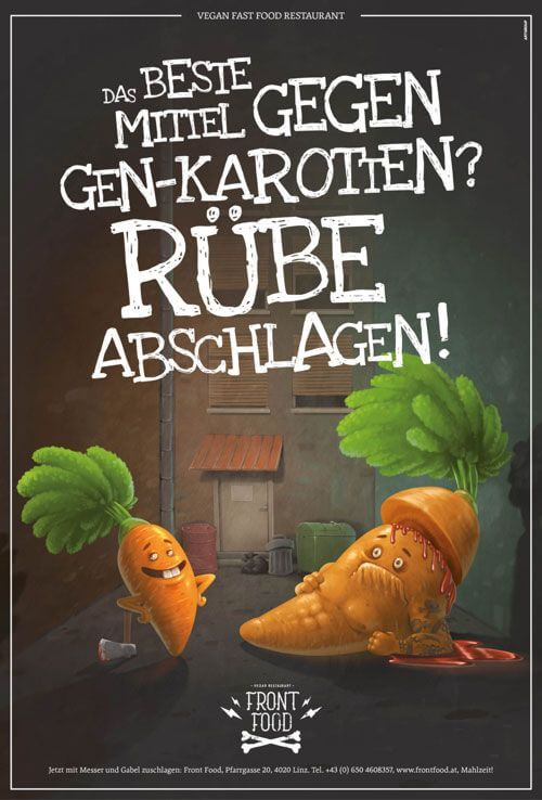 Front Food Kampagne Poster
