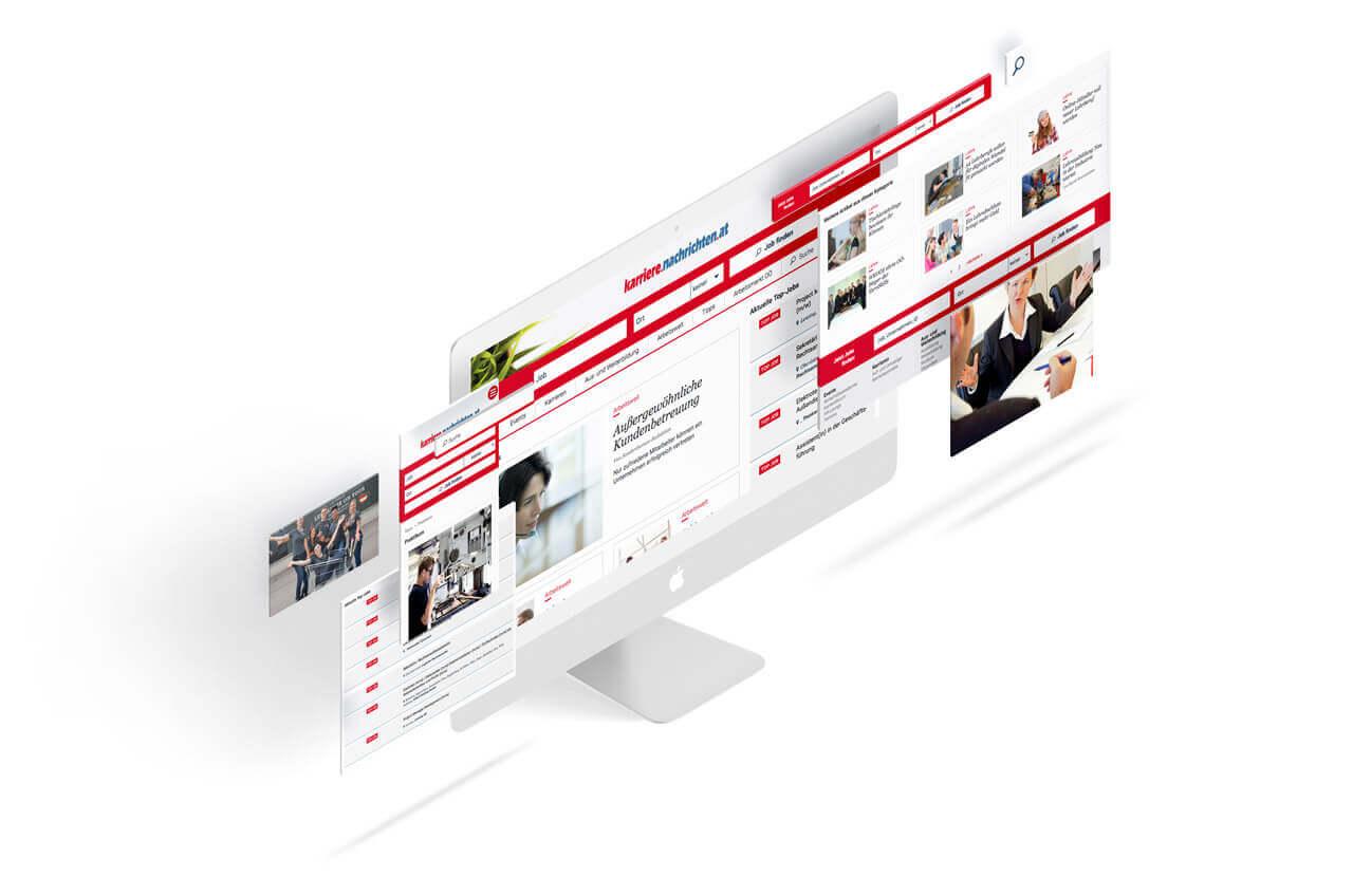 Karriere Nachrichten Webdesign
